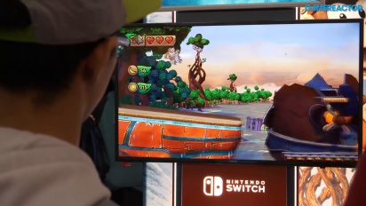 Donkey Kong Country: Tropical Freeze - Gameplay en PAX 2018