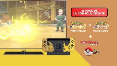Nintendo Switch edición Pikachu e Eevee - Tráiler español
