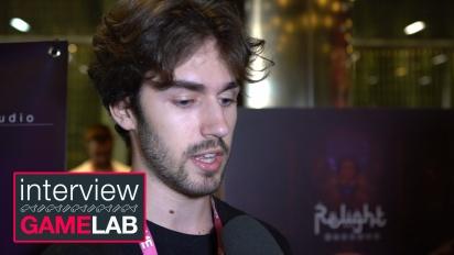Relight - Entrevista a Pedro López