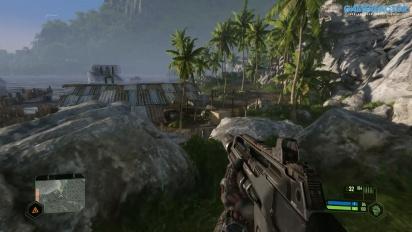 Crysis Remastered - Gráficos en calidad Ultra vs Muy alta