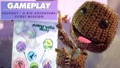 Sackboy: Una aventura a lo Grande - Gameplay del Primer Nivel