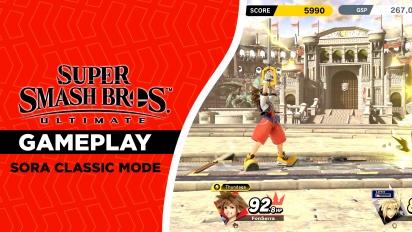 Super Smash Bros. Ultimate - Gameplay La luz que disipa la oscuridad (Sora Arcade)