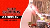Super Smash Bros. Ultimate - Gameplay Sora vs Mario