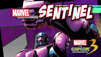 Marvel vs Capcom 3: Fate of Two Worlds - Sentinel Trailer