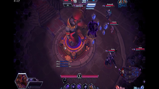 Heroes of The Storm Ranked Team League 5vs1 Chogall Solos Core! Med reaktioner!
